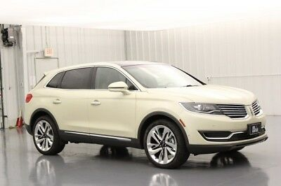 Lincoln MKX RESERVE 2.7 V6 TURBOCHARGED AWD SUV MSRP $59910 MICRO PERFORATED HEATED COOLED LEATHER SEATING 21 INCH POLISHED ALUMINUM WHEELS