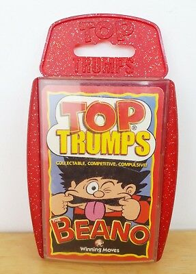 The Beano Top Trumps Card Game 2001 Edition
