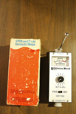 Recoton Citizens Band CB170C SWR and Field Strength Meter Preowned Works in Box