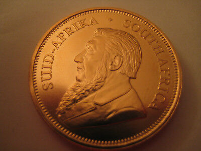 GOLD Krügerrand Fyngoud 1 OZ Fine Gold 1975