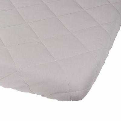 Waterproof Cotton Quilted Pack n Play Sheet | Mini Crib Sheet | All in one Ma...