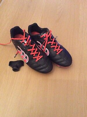 Canterbury Jnr Rugby Boots Size 4