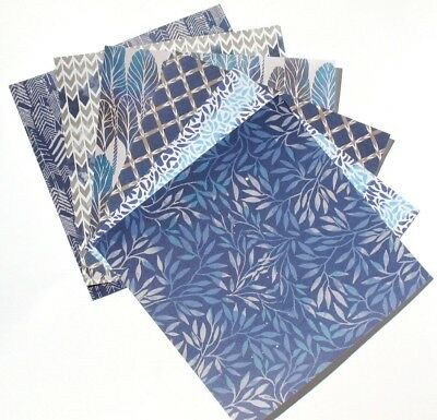 Indigo - 6x6 Forever In Time Scrapbooking Paper Pack