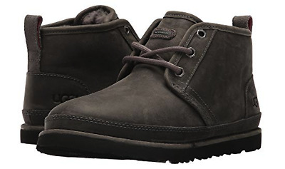 43f84232fb5 UGG AUSTRALIA NEUMEL Waterproof Leather Lace Up Boot Charcoal ...