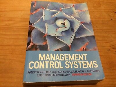 Management Control Systems: European Edition: European Edition by Vijay...