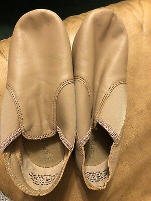 Capezio EJ2 Caramel Adult Size 6 Medium E-Series Slip On Jazz Shoe
