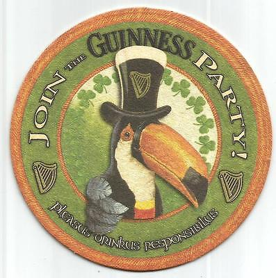 15 Join The Guinness Party Beer Coasters  Free USA Shipping
