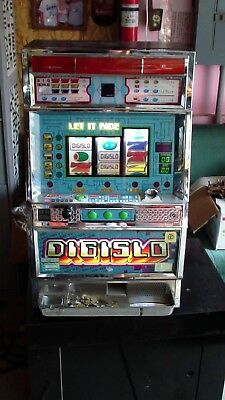 Pachislo SKILL STOP JAPANESE  SLOT MACHINE digislo WORKING
