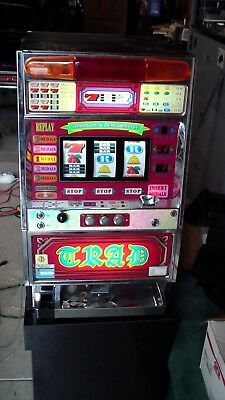 Pachislo SKILL STOP JAPANESE  SLOT MACHINE GRAD WORKING
