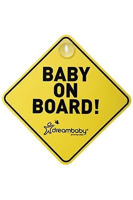 Dreambaby Baby on Board Sign 1 Sign