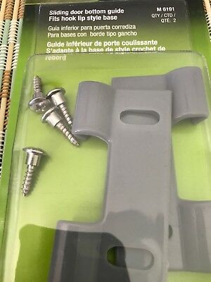 Prime-Line Products M 6191 Shower Door Bottom Hook Guide  FREE SHIP!