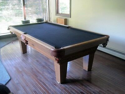 OLHAUSEN POOL TABLE Ft Excellent Condition PicClick - Olhausen madison pool table