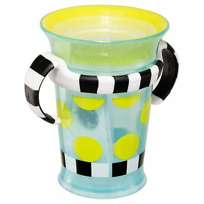 Sassy Spoutless Grow Up Cup with Trainer Handles, 7 Ounce