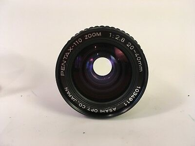 Pentax lens for Auto 110 Micro Camera, 20-40mm zoom lens