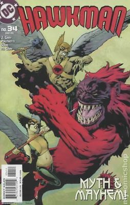 Hawkman (4th Series) #34 2005 VG Stock Image Low Grade