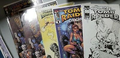 Tomb Raider Laura Croft comics