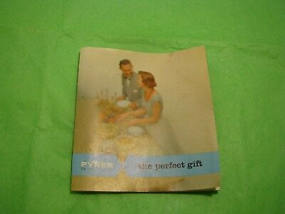 """Vintage Pyrex Ad The Perfect Gift 3 1/2"""" x 3 1/4"""" small Color"""