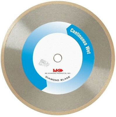 MK Diamond 7 in. Wet Cutting Continuous Rim Diamond Blade For Tile And Marble