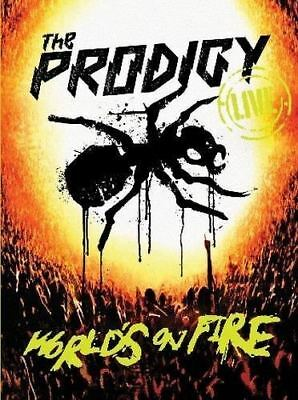THE PRODIGY Live World's On Fire DVD/CD BRAND NEW NTSC Region All