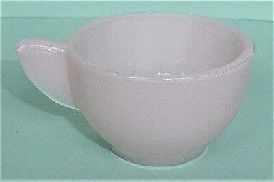 Akro Agate Large Interior Panel Pink Luster Cup ~ Child's Tea Set ~ 4 Available