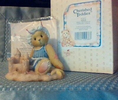 Cherished Teddies - Sandy There's Room in my Sand Castle For You NEW