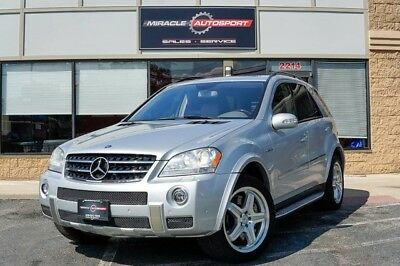 Mercedes-Benz M-Class  ml63 free shipping warranty amg 2 owner clean carfax cheap finance 4x4 fast