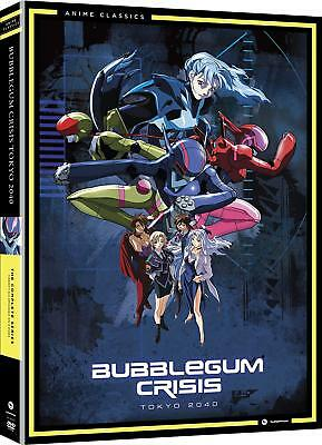 Bubblegum Crisis Tokyo 2040 Anime Complete Collection RC1 [4 DVDs]