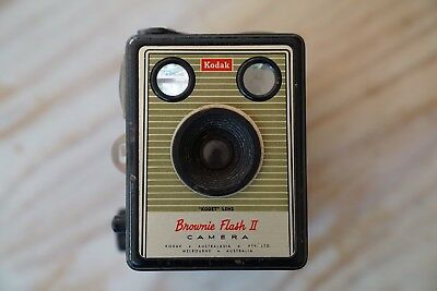Kodak Brownie Flash II Vintage Camera