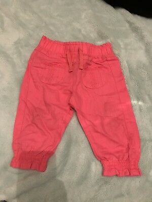 Next Baby Girls Trousers 6-9 Months