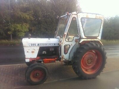 David Brown DB 995 Selectomatic 2WD Deisel Tractor with Power Steering