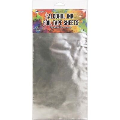 "Tim Holtz Alcohol Ink Foil Tape Sheets - 6""X12"" - 3 Sheets"