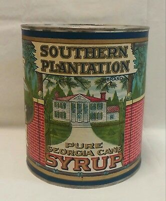 Southern Plantation Pure Georgia Cane Syrup Can - Large - 1 Gallon