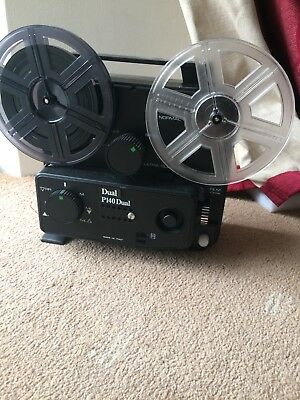 """Cine projector, reel to reel, three """"films"""" collection only"""