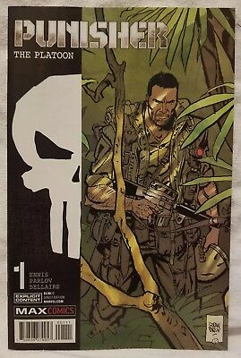 Punisher: The Platoon #1 (Dec 2017, Marvel) Comic Book