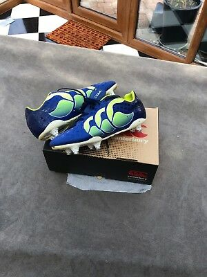 Canterbury Rugby Boots Size 5 - Blue