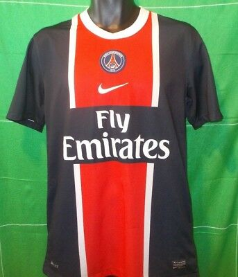 Official PSG Paris Saint-Germain France Home Shirt 2011-2012 (M)