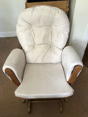 Kub Glider Maternity Chair With Foot Stool