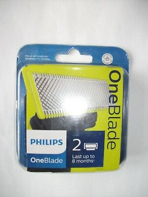Philips OneBlade Replacement Blade Pack Of 2 QP220/50 New & Sealed FREE POST