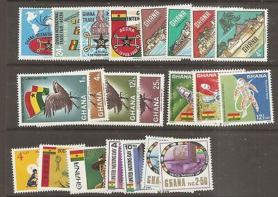 Ghana 1967 Commemorative collection Mint Never Hinged MNH   a1890