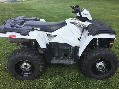 Polaris Sportsman 570 EPS EFI 4x4 Winch/Snow Plow NO RESERVE