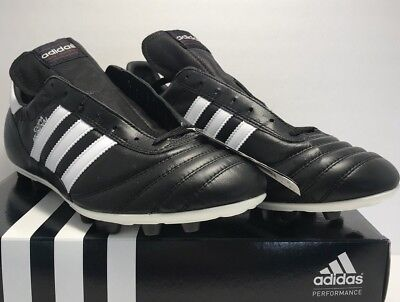 12cc98217 Adidas Mens Size 12 Copa Mundial Performance Black Leather Soccer Cleats New