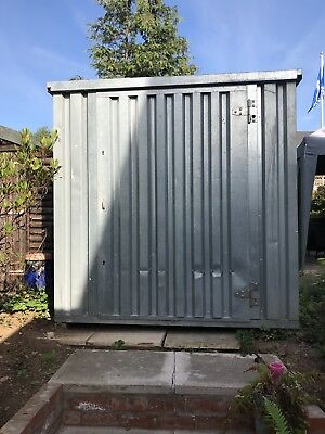 Flat Pack Storage Container 4 Mtrs Long 2.1mtrs Wide 2.1 Mtrs High Solid Floor