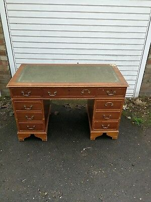 Antique captains desk