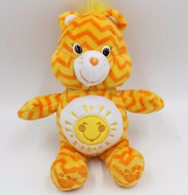 Funshine Care Bear Yellow Sunshine Sun Plush Stuffed Animal Teddy 8""