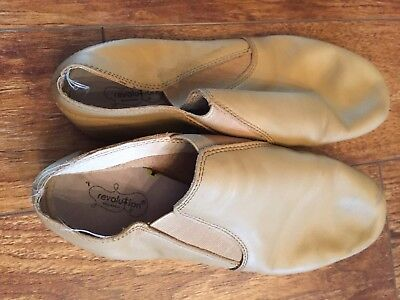 Womens  Dancewear Revolution Jazz Shoes size 9AD M - USED
