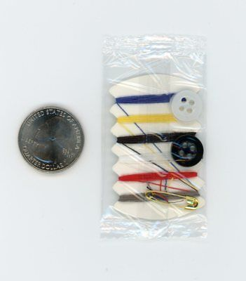 Mini Thread & Needle Sewing Kit for Survival Pack, Bug Out Bag, Free Shipping