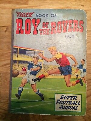Tiger Book Of Roy Of The Rovers 1959 Annual Football