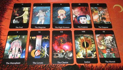 Tarot Deck 23 Cards Trumps Rare Deck Only Limited to 30 Only Signed Numbered