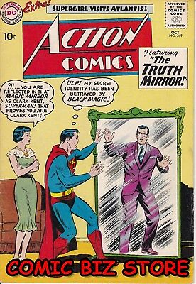 Action Comics #269 (1960) Silver Age Dc 1St Print Fn+ 6.5 Jerome Wenker Coa