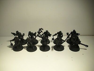 Warhammer 40k / Necromunda / Chaos Space Marines Cultists / Chaos Cult Gang 1